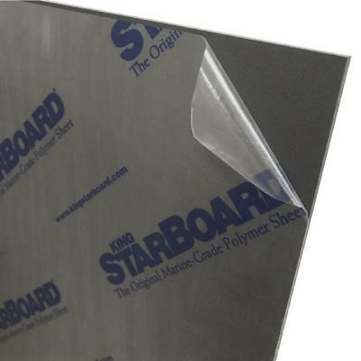 "$39 • Buy Black King Starboard HDPE Polymer Plastic Sheet 1/2"" - 0.500  You Pick The Size"