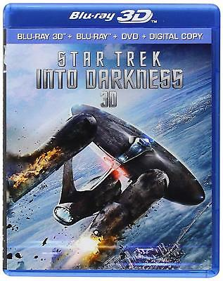 AU26.92 • Buy Star Trek Into Darkness 3D Blu-Ray NEW Factory Sealed Free Shipping