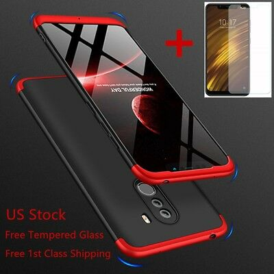 $ CDN10.83 • Buy For Xiaomi Pocophone F1 360° Full Body Shockproof Hybrid Slim Hard Case Cover