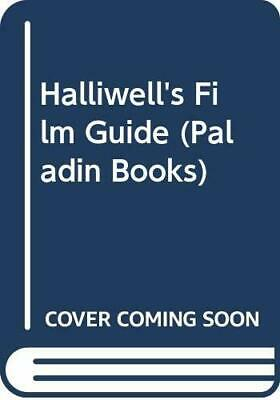 Halliwell's Film Guide (Paladin Books) By Halliwell, Leslie Hardback Book The • 7.99£