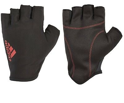 £8.95 • Buy Adidas Half Finger Weight Lifting Gloves Training Gym Exercise Fitness R153