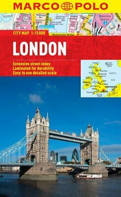 £3.59 • Buy London Marco Polo City Map (Marco Polo City Maps) By Marco Polo Book The Cheap