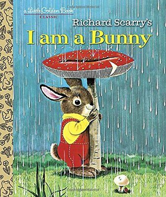 £5.49 • Buy I Am A Bunny (Little Golden Books) By Richard Scarry Book The Cheap Fast Free