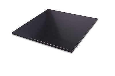 "$24.50 • Buy HDPE Black Plastic Polyethylene Sheets 0.250"" - 1/4  Thick - You Pick The Size"