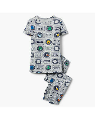 a1b5accee NWT Gymboree Cassette Tape Print Short Sleeve Gymmies Pajamas PJs 2PC Boys  • 13.99$
