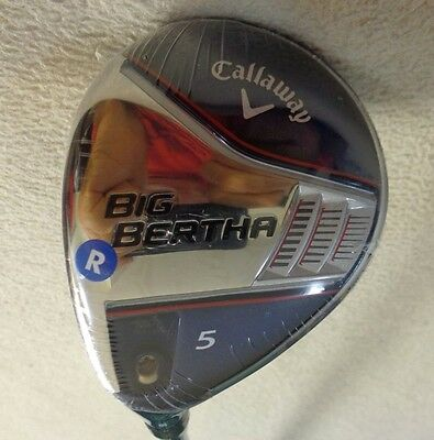 $ CDN156 • Buy LH - 2014 Callaway Big Bertha 5/18* Wood W/Zeta 65x5ct Regular Graphite Shaft