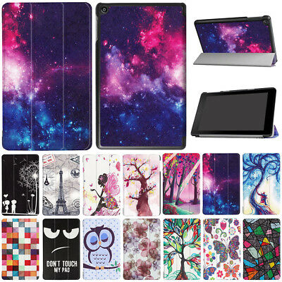 AU23.79 • Buy Fr Amazon Kindle Fire HD 8 Tab Pattern Thir-Folding Stand Shockproof Case Cover