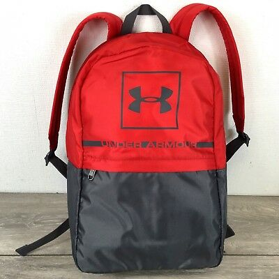 2d51582d539a Under Armour UA Project 5 Backpack School Work Laptop Sleeve Bag Red R312 •  17.10€