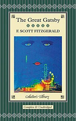 The Great Gatsby (Collectors Library) By F. Scott Fitzgerald Book The Cheap Fast • 8.49£