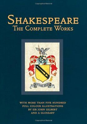 Complete Works (Collector's Library Editions In Colour) By William Shakespeare • 12.99£