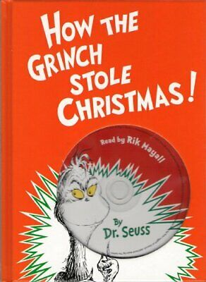 £11.99 • Buy How The Grinch Stole Christmas! ... (Book With Audio CD) Book The Cheap Fast