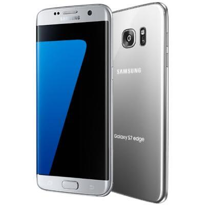 $ CDN156.64 • Buy Samsung Galaxy S7 Edge - G935A - Silver (Factory GSM Unlocked; AT&T / T-Mobile)