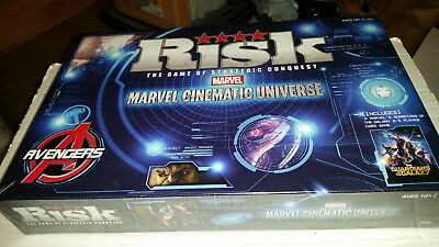 $40.49 • Buy Marvel Cinematic Universe Risk Game NEW SEALED