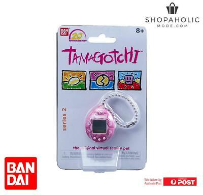 AU34.95 • Buy Bandai Tamagotchi 20th Anniversary Series 2 Chibi Dark Pink With White