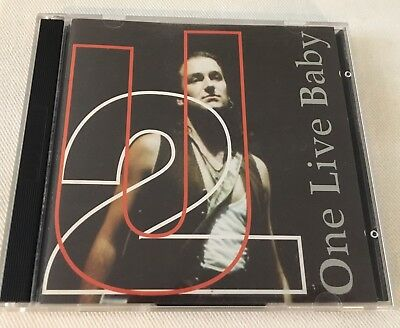 U2 - ONE LIVE BABY (LIVE IN FLORIDA 1992) - ITALY COCOMELOS RECORDS 2CD Double • 50$