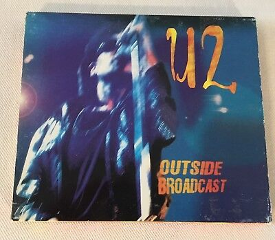 U2 - OUTSIDE BROADCAST (LIVE USA 1992) - ITALY NIKKO RECORDS CD Zoo Radio Slip • 50$