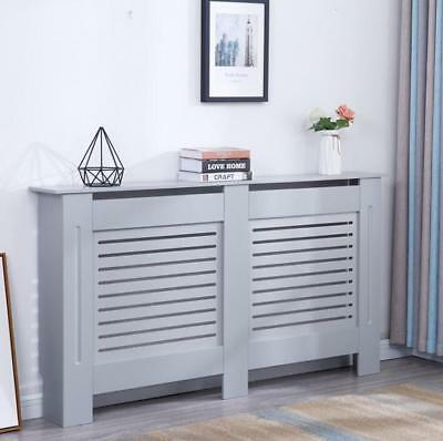 Modern Radiator Cover Wood MDF Wall Cabinet Grey - In 4 Sizes • 34.99£