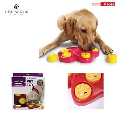 AU15.95 • Buy Puppy Dog Hound Food Treat Dispensing Interactive Puzzle Training Pet Toy