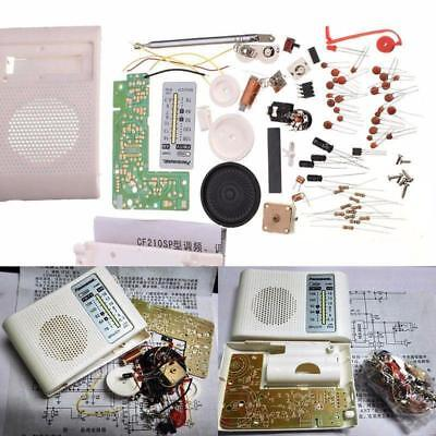 AM FM Radio Kit Parts CF210SP Suite For Ham Electronic Lover Assemble DIY S • 10.49£