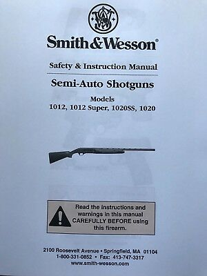 $13.99 • Buy Smith & Wesson S&W Rifle Owner's Manuals M&P10 Semi-Auto M&P15-22 SEE MORE BELOW