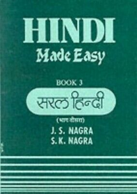 Hindi Made Easy: Bk. 3 (GCSE Series) By Nagra, S.K. Paperback Book The Cheap • 4.50£