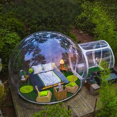 AU1310 • Buy 5M Transparent Inflatable Dome Bubble Tents Outdoor Camping Tents+ Air Bolwer