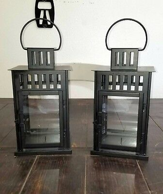 $45 • Buy Candle Lanterns (Black) - FREE SHIPPING - For Indoor & Outdoor Use - IKEA