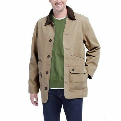 eeac9902115 ORVIS Men Classic Barn Canvas Jacket Collection Color Saddle Canvas Jacket  NEW • 39.99