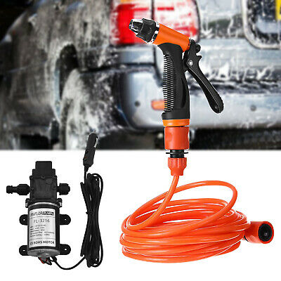 Car High Pressure Washer Wash Gun Water Spray Pump 12V Electric Cleaner Outdoor • 21.38$