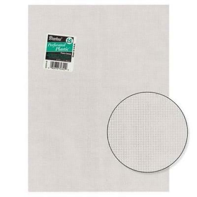 Plastic Canvas Sheets - By Darice - 14 Count Mesh - 33275 - 1 - Clear • 9.50£
