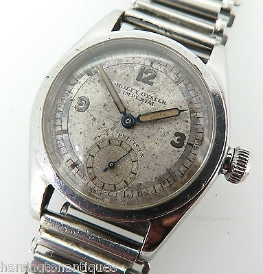 AU14900 • Buy .1936 Rolex Oyster Imperial Extra Precision Gnts Watch R.a.f Engineering Prize