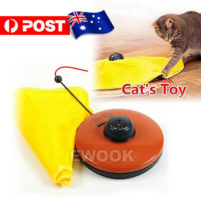 AU18.85 • Buy Electronic Kitten Cat Meow Have Fun Toy Rotating The Mouse Chase Interactive