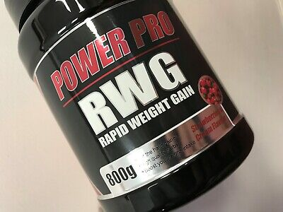 £16.80 • Buy Power Pro Nutrition   Rapid Weight Gain 800g Strawberries & Cream NEXT DAY DELIV