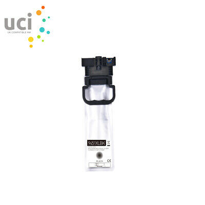 UCI Black Pigment Ink Cartridge For Epson WorkForce Pro WF-C5710DWF WF-C5790DW • 20.99£