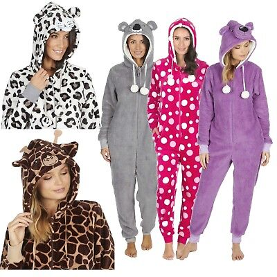 1Onesie Ladies All In One Pyjamas Ladies Fleece Pyjamas Set Womens Pajamas  • 15.97£