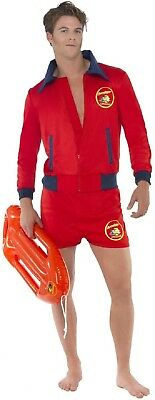 £37.99 • Buy Mens Sexy Baywatch Lifeguard Emergency Service Film Fancy Dress Costume Outfit