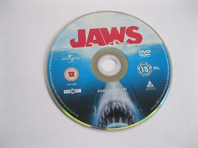 Jaws - Feature Film - Disc Only {dvd} • 1.90£