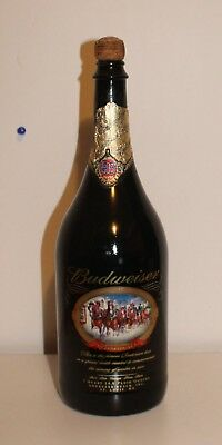 $ CDN9.61 • Buy Budweiser Collectible 1 Quart Clydesdales 2001 Commerative Bottle Winter Holiday