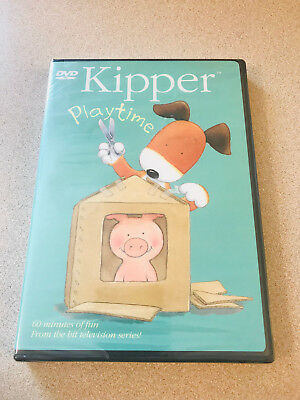 Kipper - Playtime 60 Minutes Of Fun 7 Episodes Sealed New Out Of Print • 48.44$