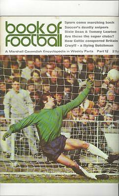 Book Of Football Marshall Cavendish 1971 Part 12 • 4£