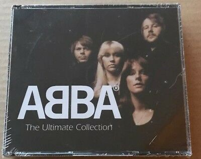 SEALED Abba - The Ultimate Collection 4 X Cd Set Very Rare. Mamma Mia Waterloo • 49.99£