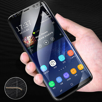 $ CDN1.89 • Buy For Samsung Galaxy S9 8 Plus A8 9 J7 Accessory Full Curved Screen Protector Film