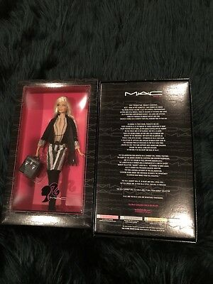 $275 • Buy MAC Barbie Doll ... Gold Label ... Never Opened