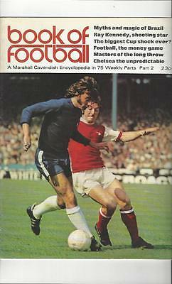 Book Of Football Marshall Cavendish 1971 Part 2 • 4£