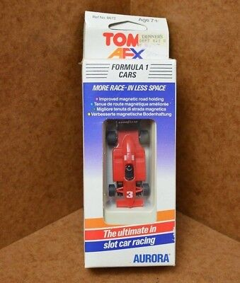 Rare Boxed Tomy AURORA AFX NGK Goodyear F1 For Tyco, Micro Scalextric HO Tracks • 34.99£