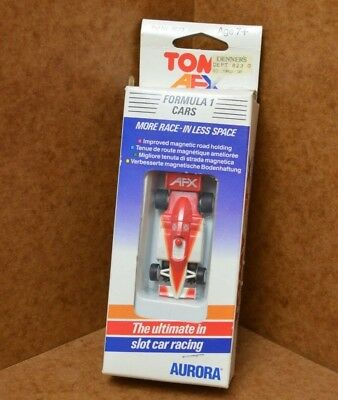 Rare Boxed Tomy AURORA AFX F1 Car For Tyco, Micro Scalextric HO Tracks • 34.99£