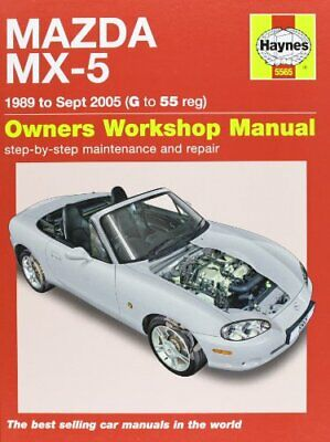 Mazda MX-5 Service And Repair Manual: 1989-2005 (Haynes S... By Randall, Martynn • 18.99£