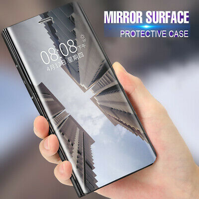 $ CDN7.38 • Buy For One Plus Z Nord 8 7T 7 Pro 6T Clear View Mirror Luxury Stand Case Slim Cover