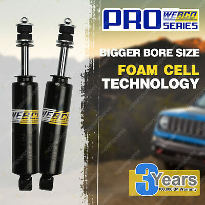 AU160 • Buy 2  50mm Lift Front Foam Cell Shock Absorbers For Pajero NH NJ NK NL Triton MK