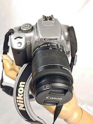 £367.35 • Buy Canon EOS 400D / Rebel XTi 10.1MP Camera With Canon EF-S 18-55mm F/3.5 STM Lens